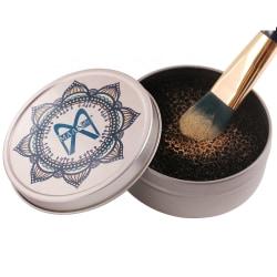 Maange Makeup Sminkpulverborttagningssvamp med Metal Box. Marble