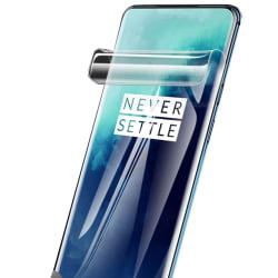 OnePlus 7 Pro 3-PACK Mjukt Skärmskydd PET 9H 0,2mm Transparent/Genomskinlig