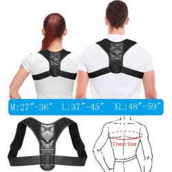 Ortopedisk Korsett Svart X-Large