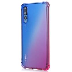 Skal - Huawei P20 Pro Blå/Rosa