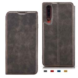 Stilrent Vintage Plånboksfodral - Huawei P30 Brun Brun