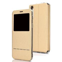 Huawei P30 - Stilrent Smartfodral med Fönster (LEMAN) Guld