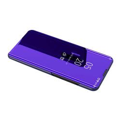 Elegant Fodral (Leman) med Clear-View - Huawei P30 Lilablå