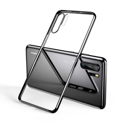 Huawei P30 Pro - Stilrent Skyddsskal i Silikon (LEMAN) Svart