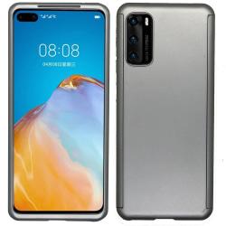 Genomtänkt Dubbelskal - Huawei P40 Lila