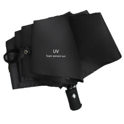 Stilrent Effektfullt Automatiskt Paraply Mörkblå