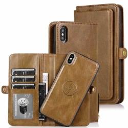 Plånboksfodral - iPhone XS Max Svart