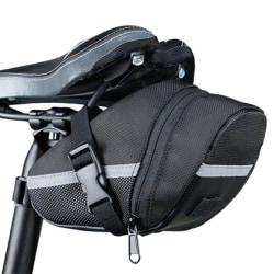 Praktiskt Sadelväska till Cykel Vattentålig Svart