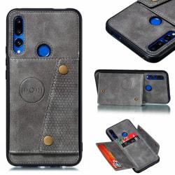Skyddsskal med Korthållare - Huawei P Smart Z Svart