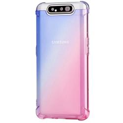 Robust Skal (Air-Bag) - Samsung Galaxy A80 Svart/Guld