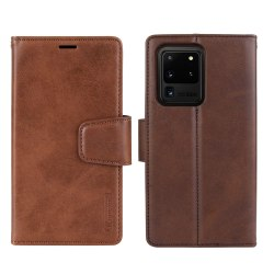 Plånboksfodral - Samsung Galaxy S20 Ultra Brun