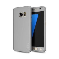 Praktiskt Skyddsfodral för Galaxy S6 EDGE  (2 delar) Roséguld