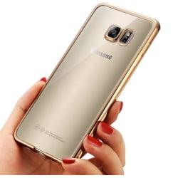 Samsung Galaxy S7 Edge - Stilrent Silikonskal från LEMAN Roséguld