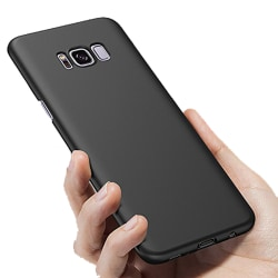 Silikonskal - Samsung Galaxy S8 Plus Svart Svart
