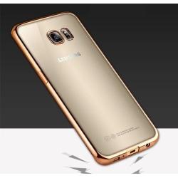 Samsung Galaxy S8 - Stilrent Silikonskal från LEMAN Guld