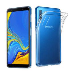 Samsung Galaxy A7 2018 - Smart Skyddsskal i Silikon från FLOVEME Transparent/Genomskinlig