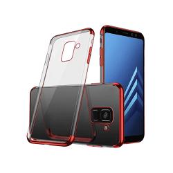 Samsung Galaxy A8 2018 - Elegant Silikonskal Från FLOVEME Svart