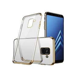 Samsung Galaxy A6 - Electro-Plated Skal av Silikon Roséguld