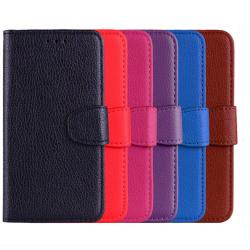 Samsung Galaxy A6 Plus - Stilrent Plånboksfodral  från NKOBEE Röd