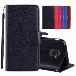 Samsung Galaxy A8 2018 - Stilrent Plånboksfodral från NKOBEE Rosa