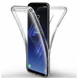Samsung Galaxy S10 + - Dubbelt Silikonskal från North Transparent/Genomskinlig