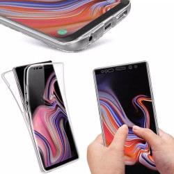 Samsung Galaxy S10 - Stilrent Dubbel Silikonskal Transparent/Genomskinlig