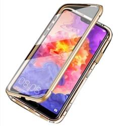 Samsung Galaxy S20 - Praktiskt Skyddande Magnetiskt Dubbelsidigt Guld