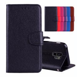 Samsung Galaxy S9 - Stilrent Plånboksfodral från NKOBEE Svart