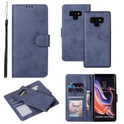 Samsung Galaxy Note 9 - Stilrent Fodral (Dubbelfunktion) LEMAN Marinblå