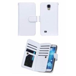 Samsung S7 EDGE - Smart 9-korts Plånboksfodral Sedelfack Vit