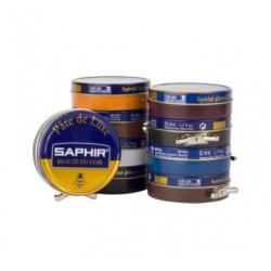 Saphir skokräm (mörkbun) Exklusiv skokräm