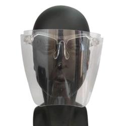 Skyddande Bekväm Face Shield Skyddsvisir Ansiktsvisir Transparent/Genomskinlig