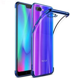 Skyddande Stötdämpande Silikonskal - Huawei Y6 2018 Guld