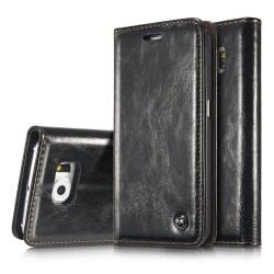Stilrent Plånboksfodral från CASEME till Samsung Galaxy S6 Vit