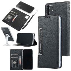 Stilrent Stötdämpande Plånboksfodral - iPhone 11 Pro Svart