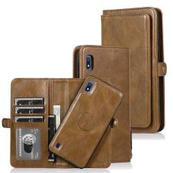 Stilsäkert Effektfullt Plånboksfodral - Samsung Galaxy A10 Mörkblå