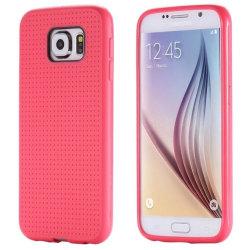 Stötdämpande Skal - Samsung Galaxy S7 Edge Röd