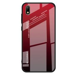 Huawei Y5 2019 - Effektfullt Skyddsskal NKOBEE Svart/Röd
