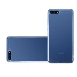 Silikonskal - Huawei Y6 2018 Transparent/Genomskinlig