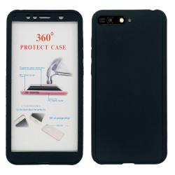 Huawei Y6 2018 - Praktiskt Skyddsskal Dubbelsidigt Svart
