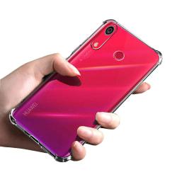 Silikonskal - Huawei Y6s Transparent/Genomskinlig