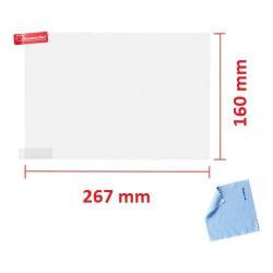 "10,1"" universal 267 x 160 mm 2st skärmskydd Transparent"