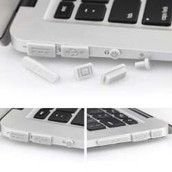 "12 delar/Set Dust plug MacBook Pro med Retina 13""/15"", Air 11""/1"