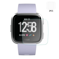 2 st HAT PRINCE Fitbit Versa Tempered Glass 0.2mm Transparent