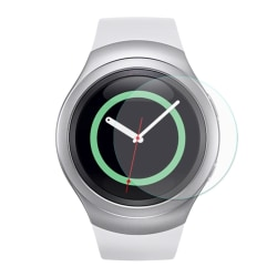 2 st HAT PRINCE Samsung Gear S2 Tempered Glass 0.2mm Transparent