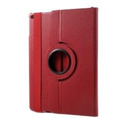 """360 Rotation fodral iPad 9.7"""" (2017/2018) iPad Air/Air 2 - Röd Röd"""