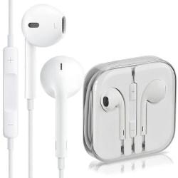 Apple EarPods fjärrkontroll mikrofon MD827ZM/B 3,5mm BULK Vit