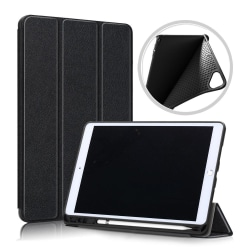 Apple iPad 10.2 2019 / 2020 Slim fit tri-fold fodral - Svart Svart