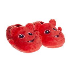 Babblarna Baby, Tofflor, Bobbo Röd