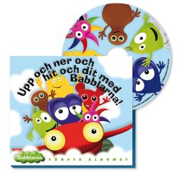 BABBLARNA Första Albumet, CD multifärg